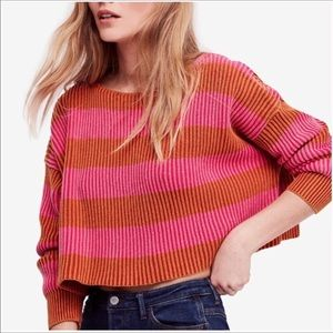 Free People | Just My Stripe Sweater